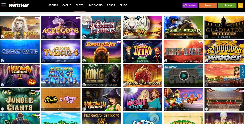 Winners Casino Online